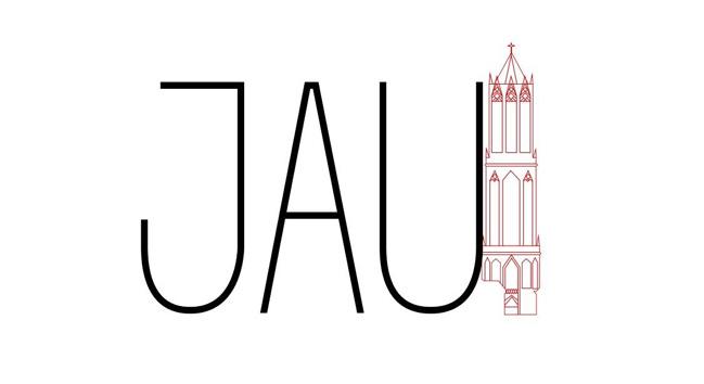 Het logo van het JAU (Netwerk Jonge Ambtenaren Utrecht)